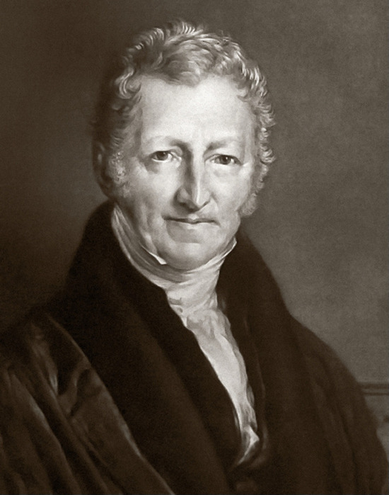 a biography of thomas robert malthus the political economist of 1798