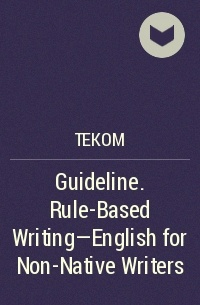 English for writers