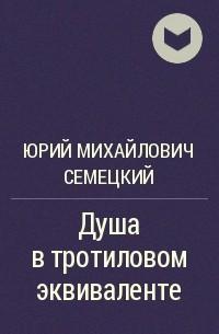 Юрий Михайлович Семецкий Душа в тротиловом эквиваленте